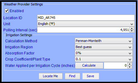 Using the HAM Weather Irrigation Module - Universal Devices